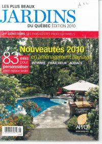 Les plus beaux jardins du Québec 2010